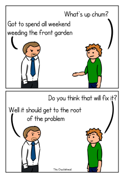 weeding out the problem